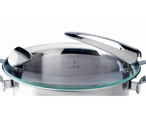 Poklice pro varné nádobí Solea®- O 16 cm, sklo- - Fissler