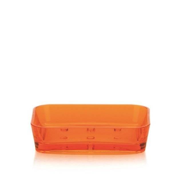 Miska na mýdlo KRISTALL oranžová KL-21859 - Kela