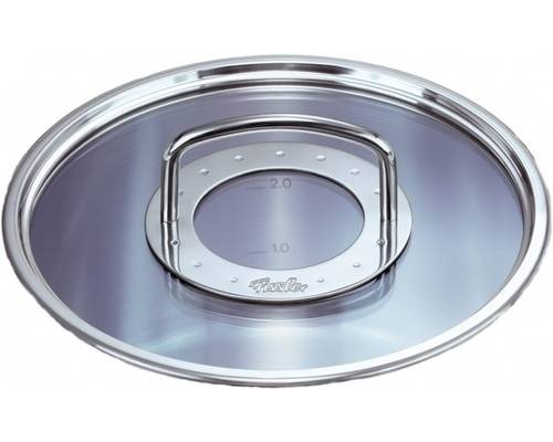 Poklice pro varné nádobí Profi Colection®- O 24 cm, sklo-nerez- - Fissler