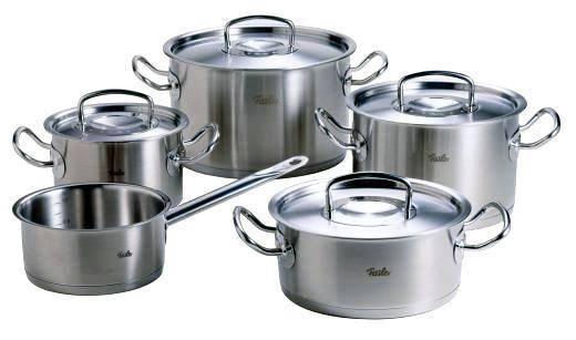 Sada nádobí – nerez, 5 dílná - Original profi collection® - Fissler