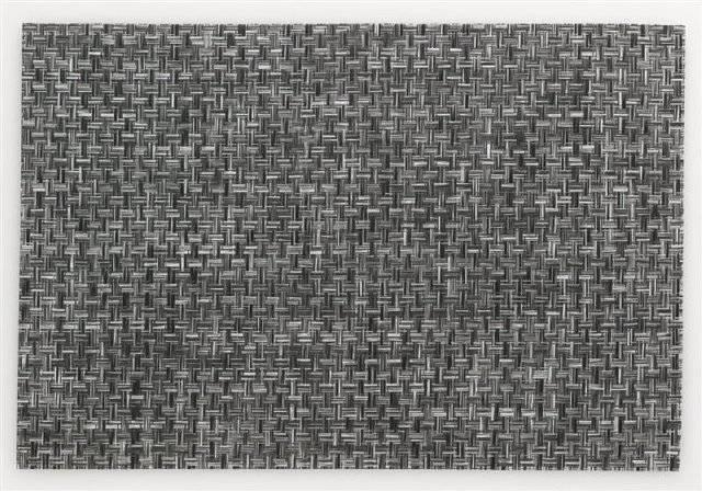 Prostírání PLATO, polyvinyl, černé/bílé 45x30cm KL-15644 - Kela