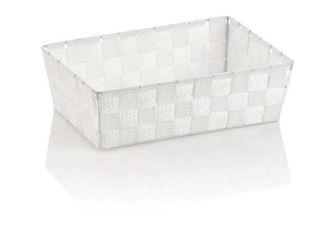 Koš ALVARO bílá 29,5x20,5x8,5cm KL-23020 - Kela