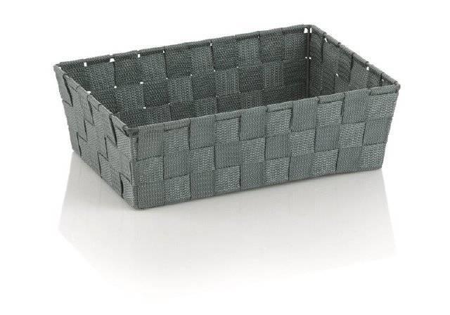 Koš ALVARO šedá 29,5x20,5x8,5cm KL-23022 - Kela
