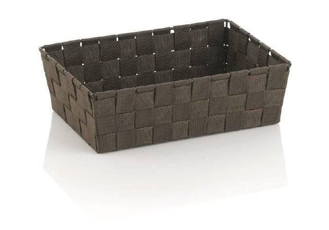 Koš ALVARO hnědá 29,5x20,5x8,5cm KL-23023 - Kela