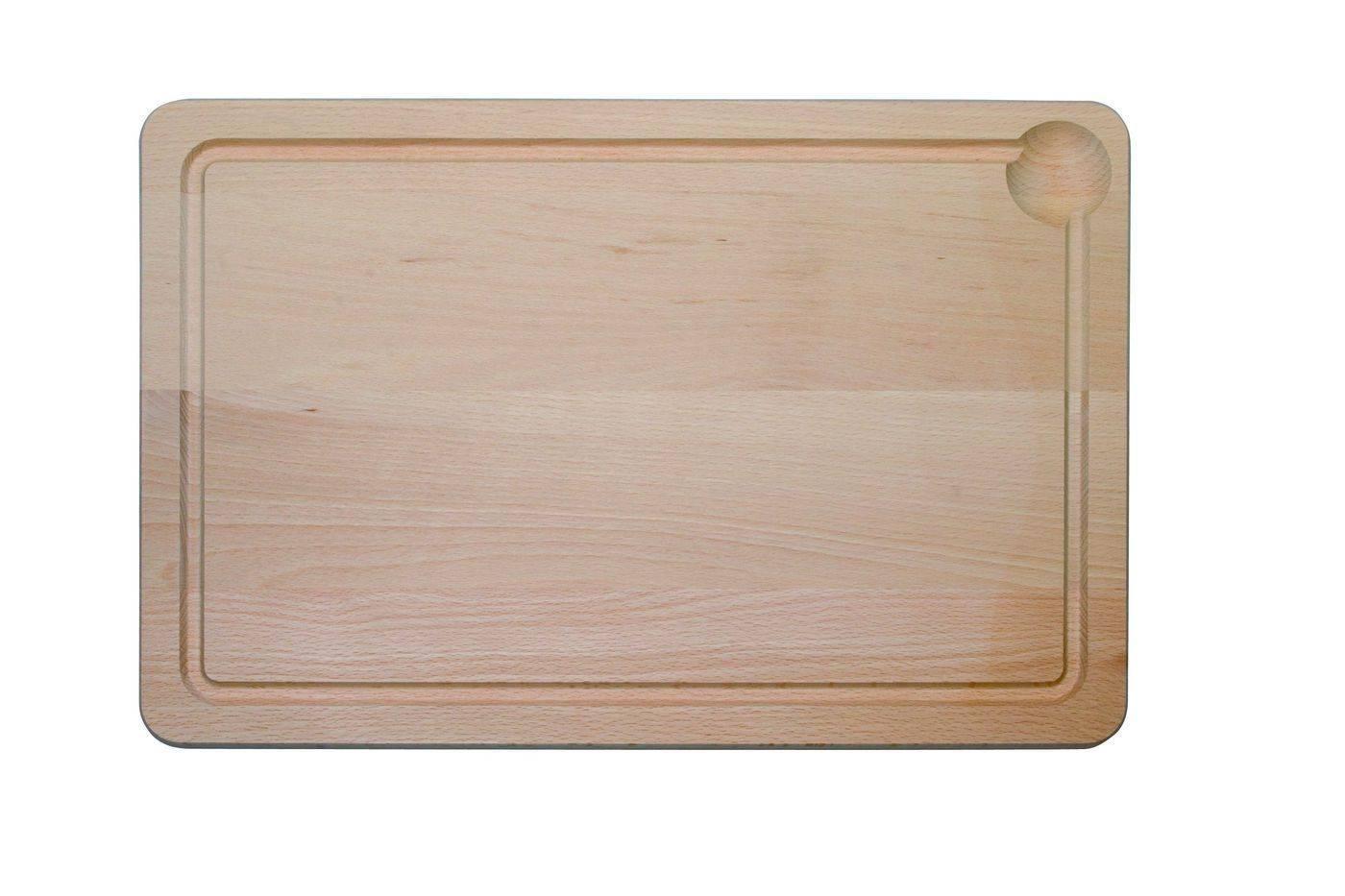 Kuchyňské prkénko s drážkou 45x30x2cm - Dřevovýroba Otradov