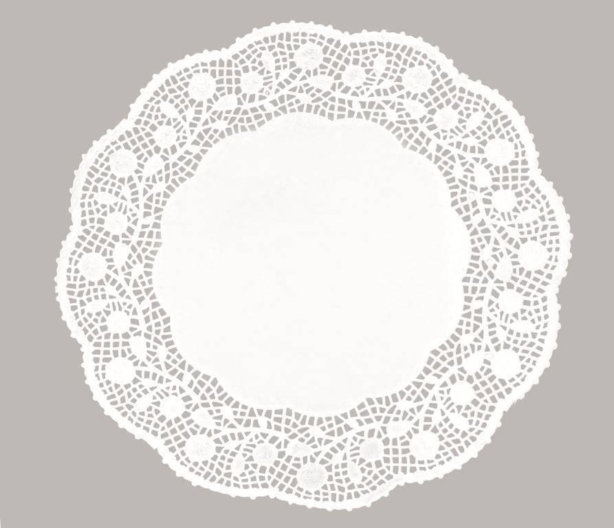 Dekorační papírová krajka 30cm - Ibili