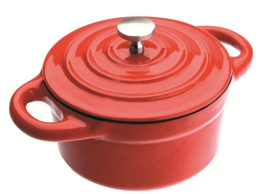 Cocotte - hrnec mini 0,3l - červený - Ibili