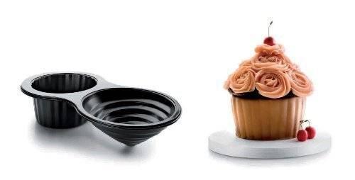 Forma na pečení cupcake dortík XL 39x20cm - Ibili