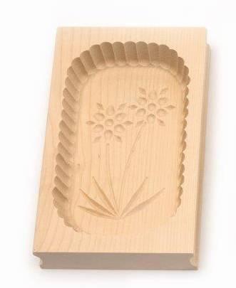 Forma na máslo obdélníková - 500 g - javorové dřevo - Klawe