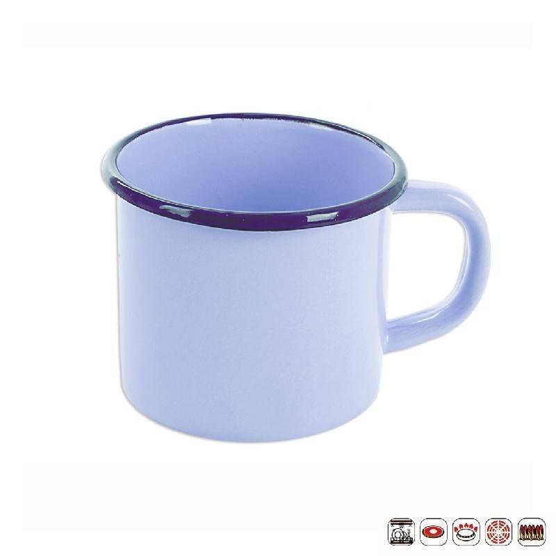 Smaltovaný hrnek modrý 1,2l - Orion