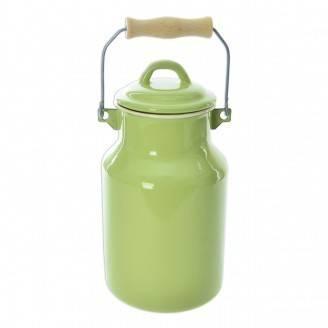Konvice na mléko smalt 2L - zelená/béžová - Orion