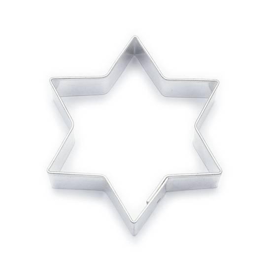 Vykrajovátko hvězda 6,2cm - Smolík
