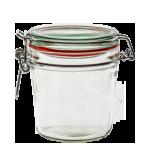 Zavařovací sklenice s klipem 500 ml - BIOWIN