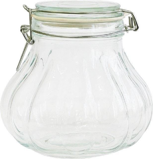 Sklenice s klipem - cibulka 1,3l - BIOWIN