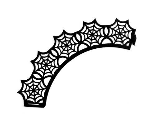 Dekorace na košíček - motiv Halloween - Ibili