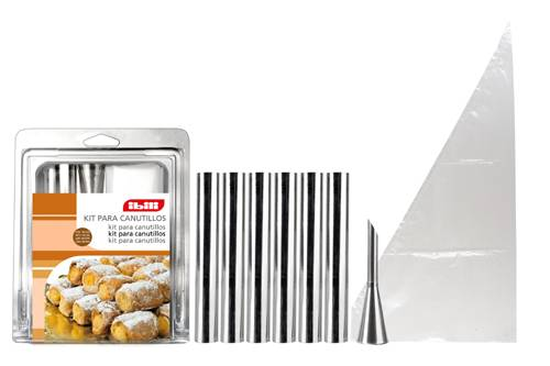 Trubičky na cukroví set – 6ks - Ibili
