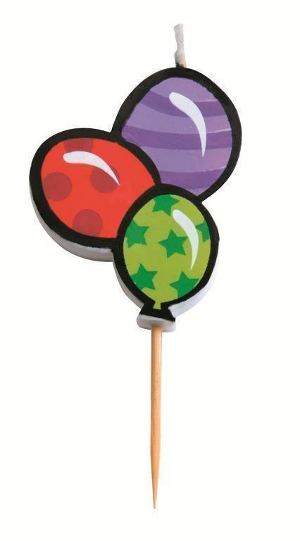 """Svíčka """"narozeninové balónky"""" - Ibili"""