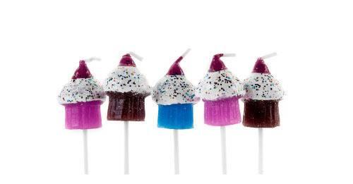Svíčky na dort - set muffiny - Ibili
