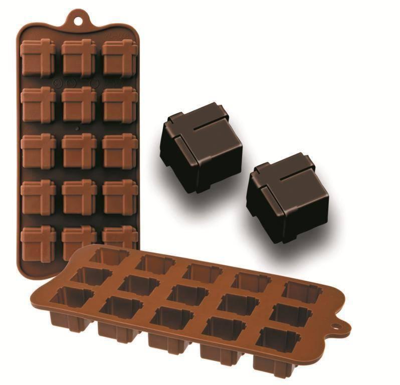 Formičky na čokoládu dárek 10,5x21cm - Ibili