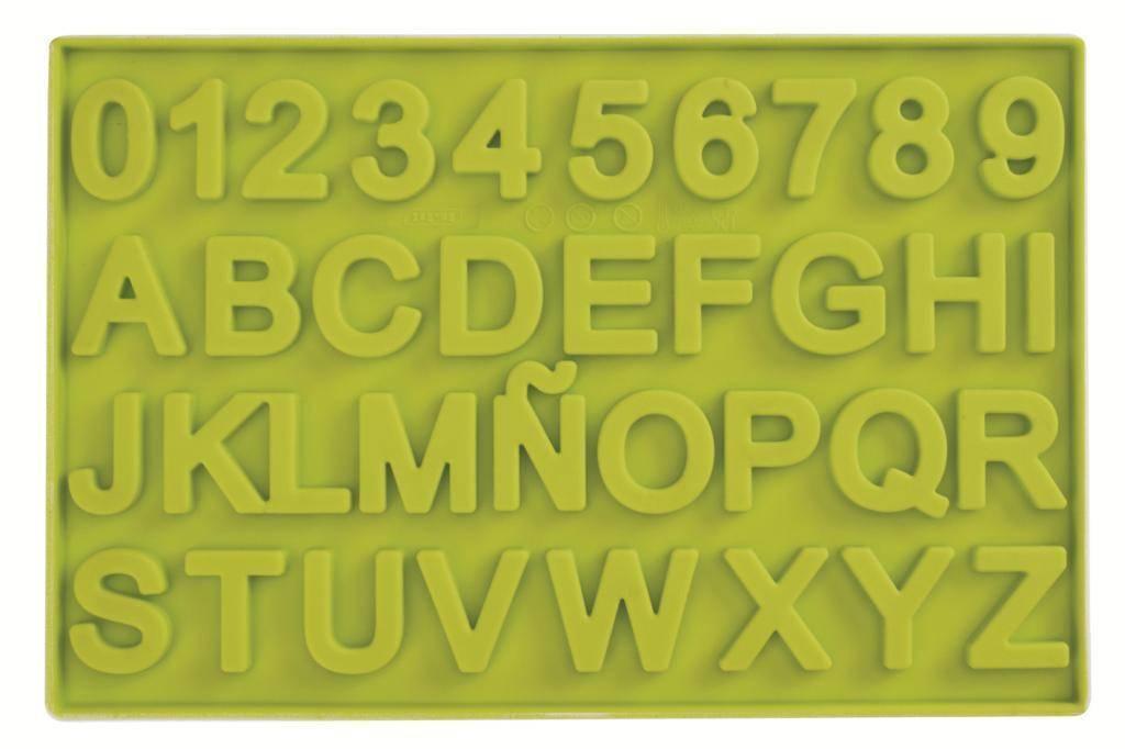 Silikonová forma na čokoládu čísla a písmena - Ibili