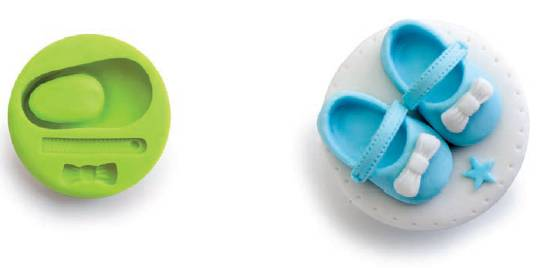3D forma na fondant bota - Ibili