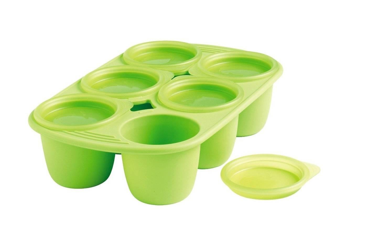 Silikonová miska Mastrad 6 porcí zelená 150ml - Mastrad