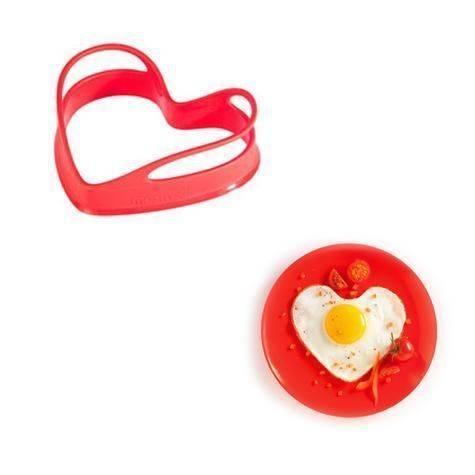 Silikonová forma na sázene vejce 2ks - červená - Mastrad