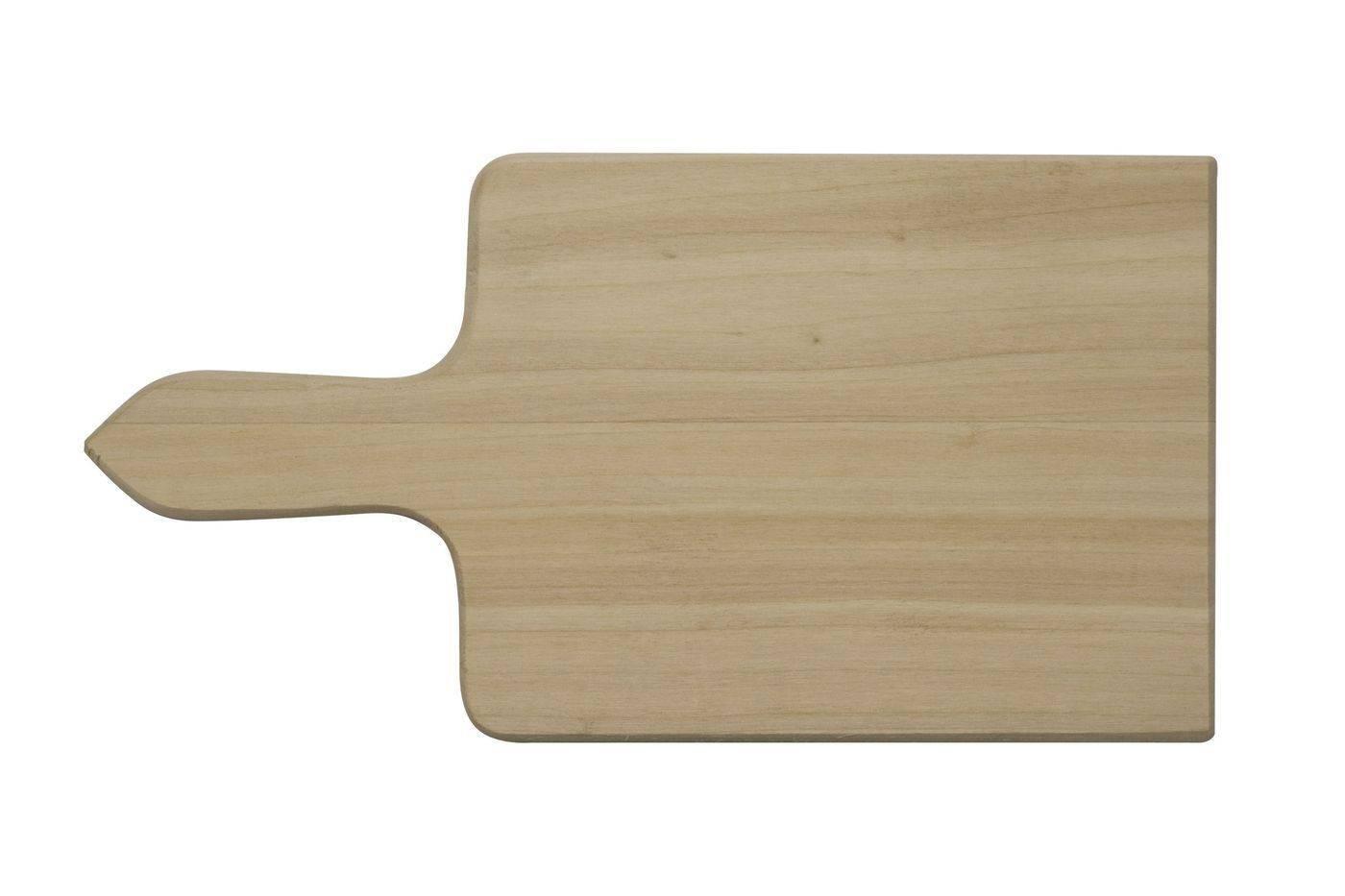 Prkénko s rukojetí na zeleninu, 300 x 135 x 12 mm - Dřevovýroba Otradov