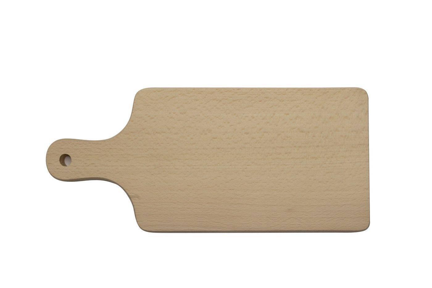 Prkénko s rukojetí, 350 x 155 x 16 mm - Dřevovýroba Otradov