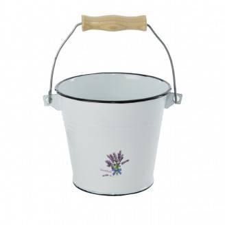Smaltovaný kbelík 1,4l - levandule - Orion