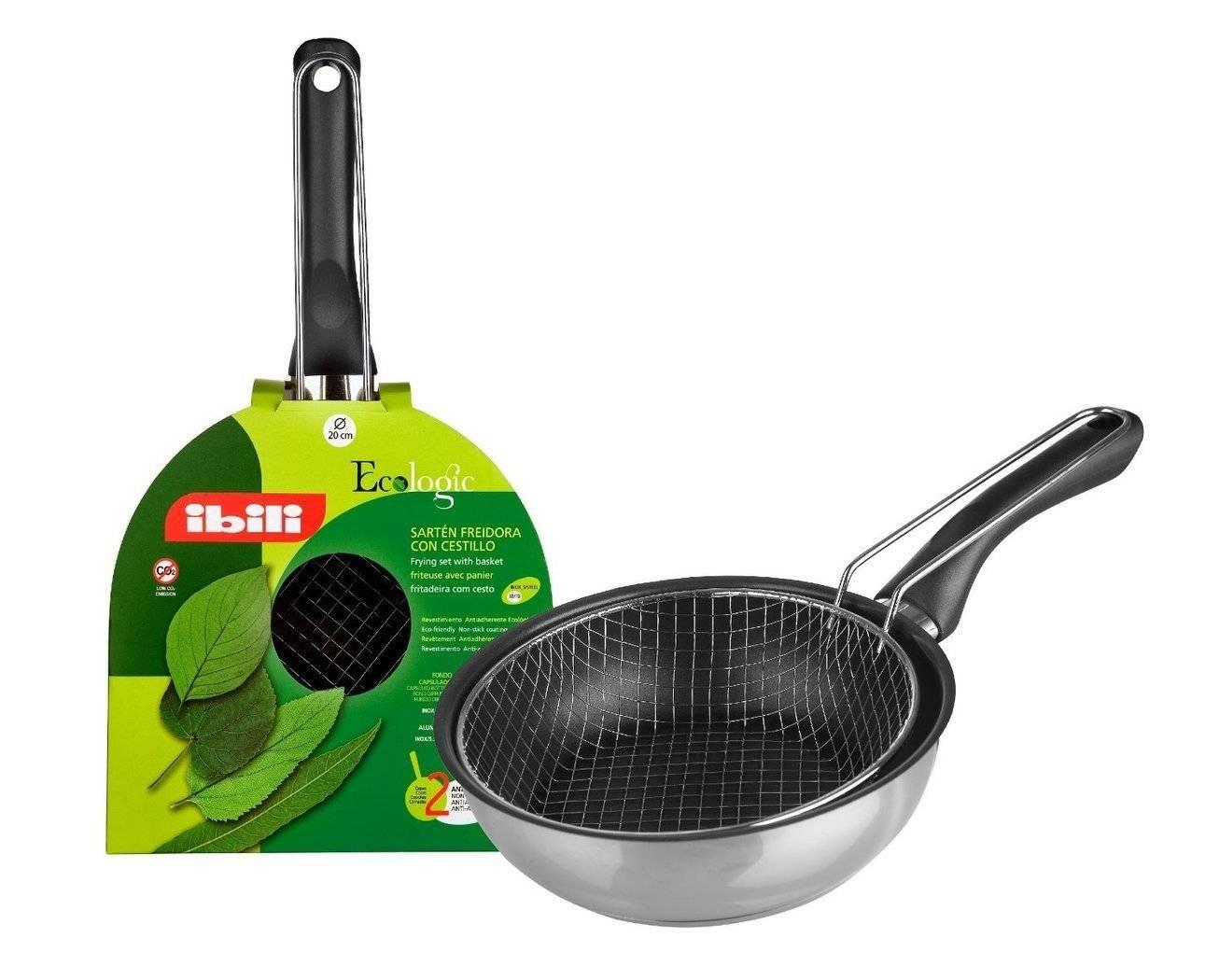 Fritovací pánev 24cm Ecologic - Ibili