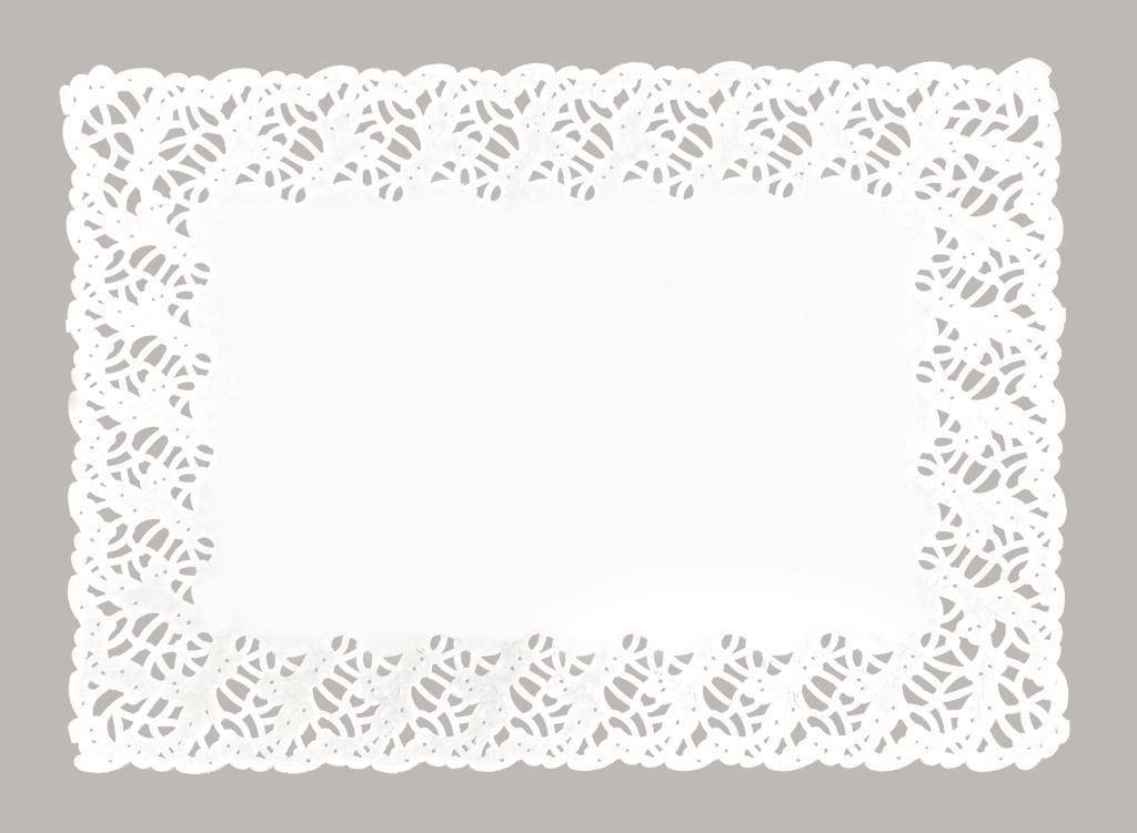 Dekorační papírová krajka 34x41cm - Ibili