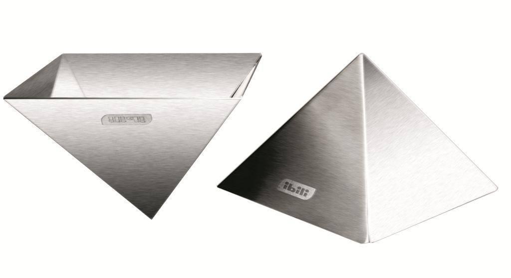 Nerezová forma na rýži pyramida - Ibili