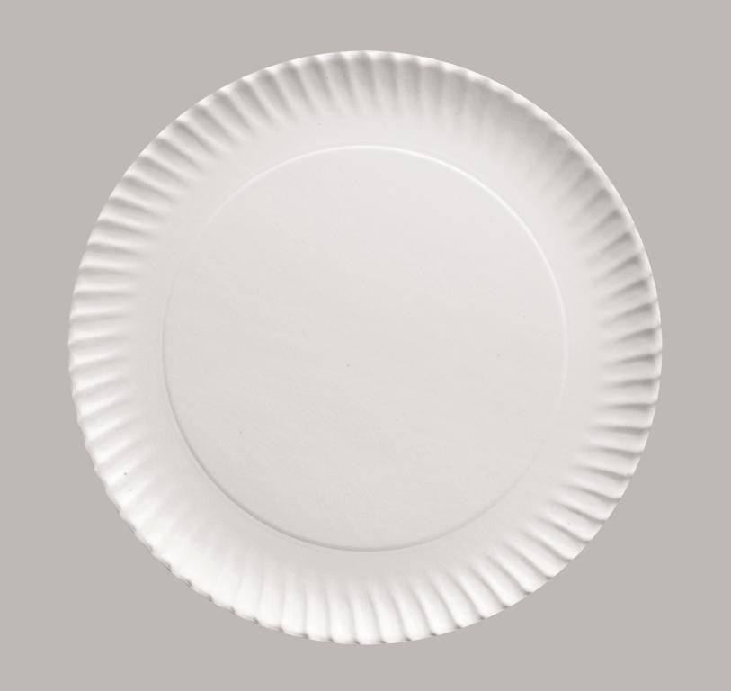 Papírový podnos kulatý 23cm set – 5ks - Ibili