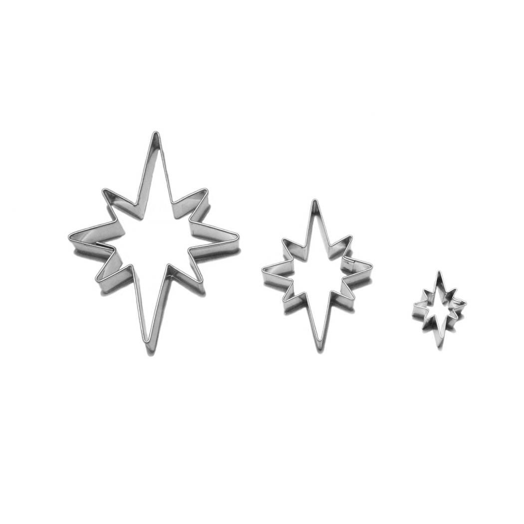 Vykrajovátka hvězdy 8 cípů - Smolík