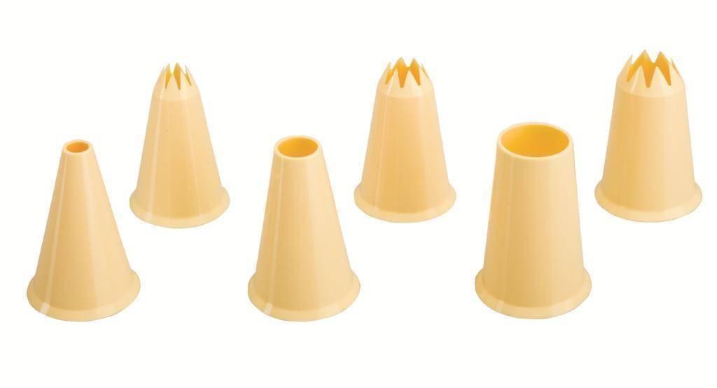 Plastová zdobítka set – 6ks - Ibili