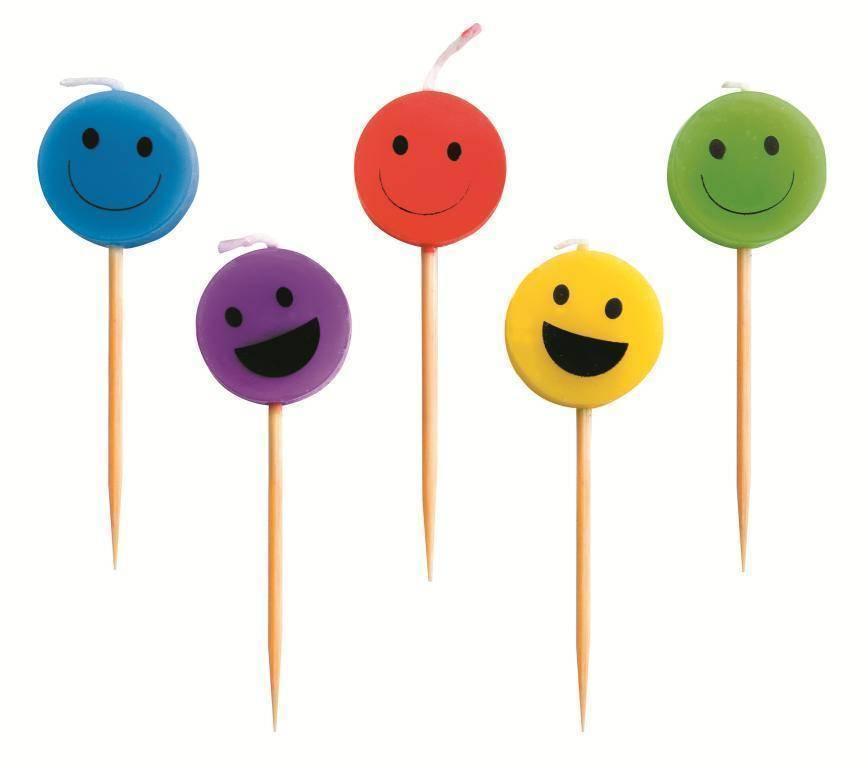 """Svíčky """"úsměv"""" set – 5ks - Ibili"""
