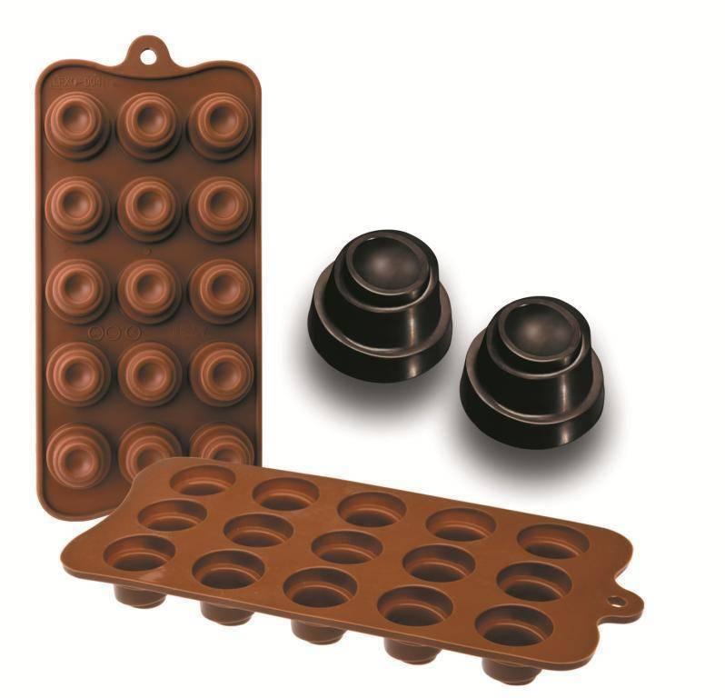 Formičky na čokoládu Delice 10,5x21cm - Ibili