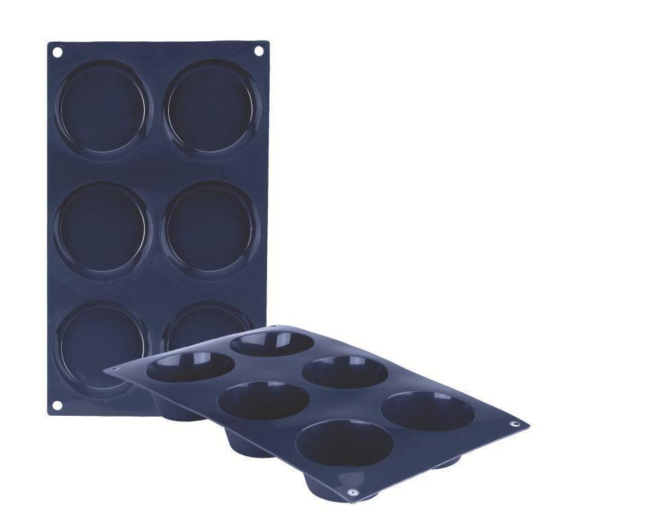 Silikonová forma na muffiny set – 6ks - Ibili