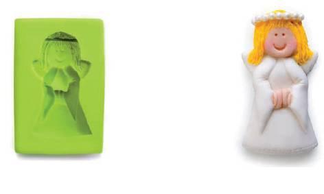 3D forma na fondant anděl - Ibili