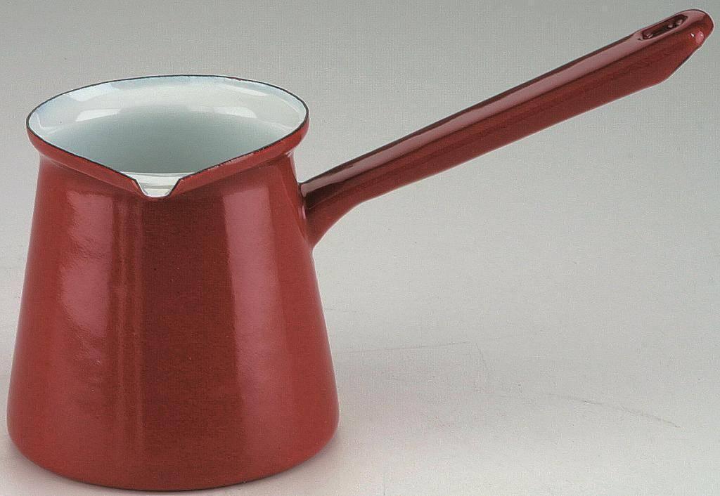 Smaltovaná džezva na kávu 0,5l - červená - Ibili
