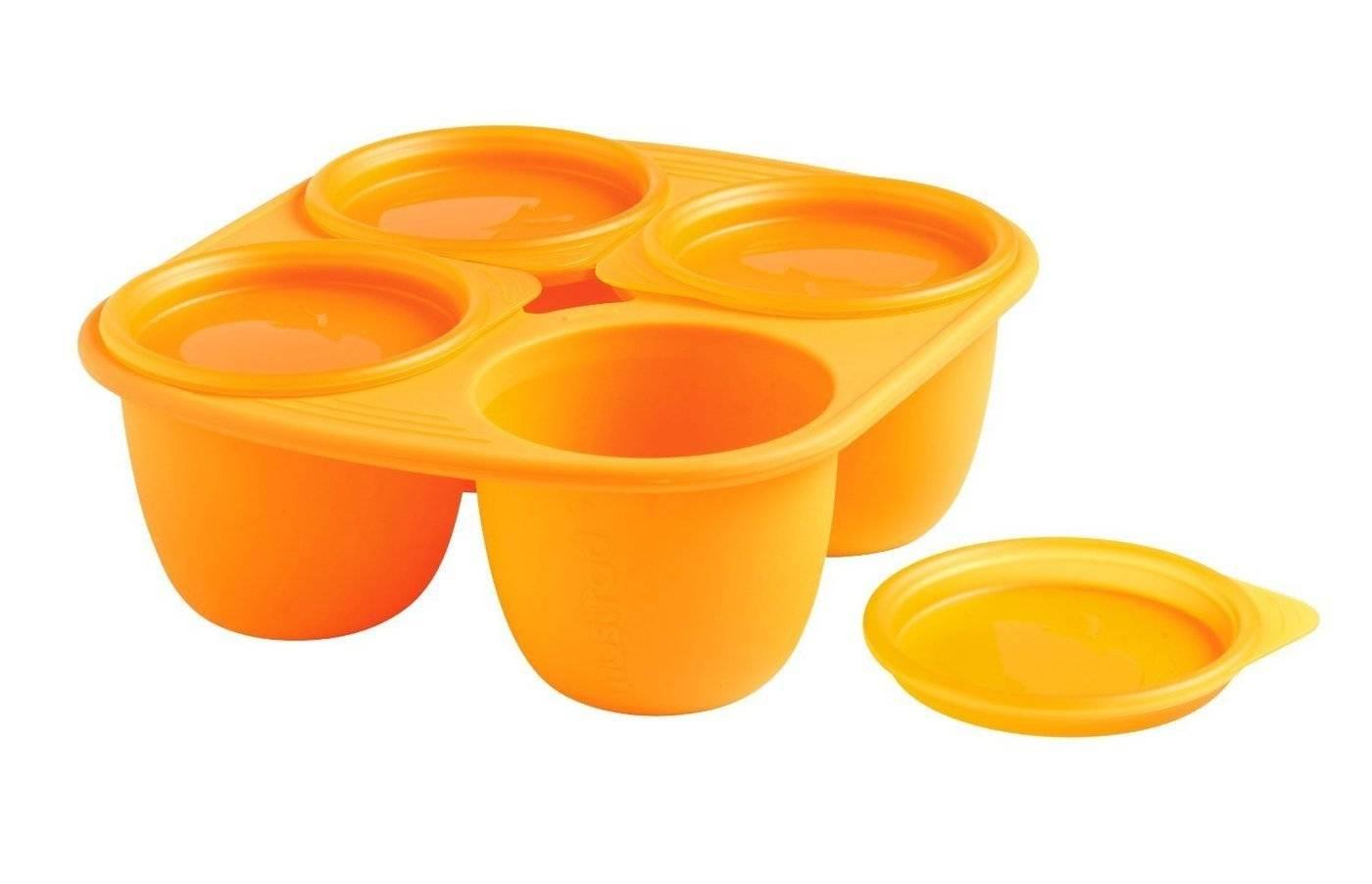 Silikonová miska Mastrad 4 porce oranžová 280ml - Mastrad