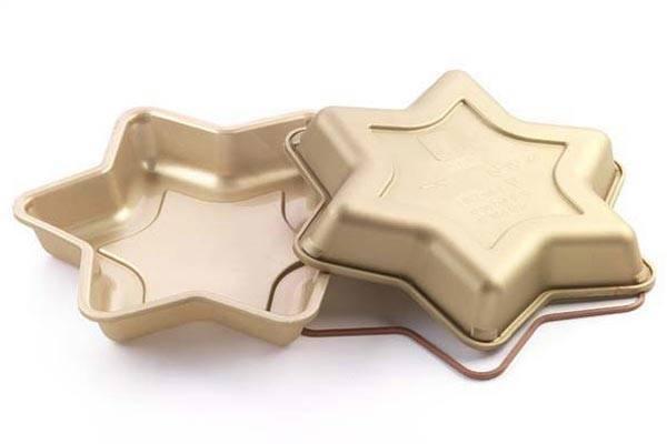 Silikonová forma na dort – hvězda - Silikomart