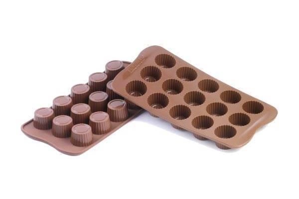 Silikonová forma na čokoládu – pralinky - Silikomart