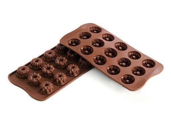 Silikonová forma na čokoládu – bábovky - Silikomart