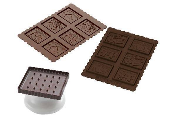 Silikonová sada na sušenky MŇAM MŇAM - Silikomart