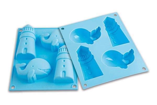 Silikonová forma na dortíky – velryba - Silikomart