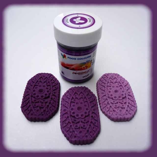 Gelová barva (Violet) fialová 35 g - Food Colours