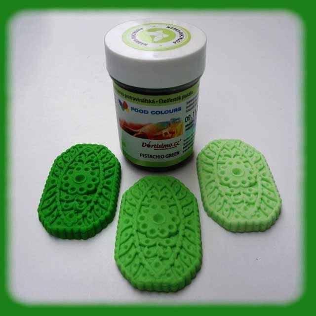 Gelová barva (Pistachio Green) pistáciově zelená 35 g - Food Colours