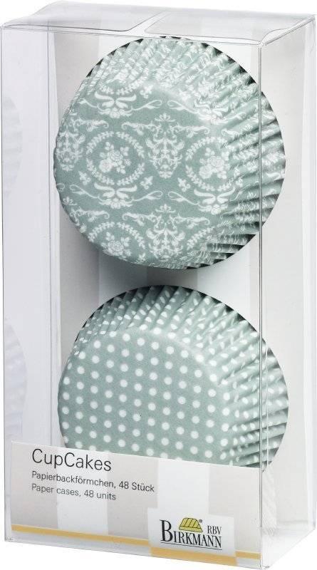 Košíčky na muffiny – květinový vzor - Birkmann